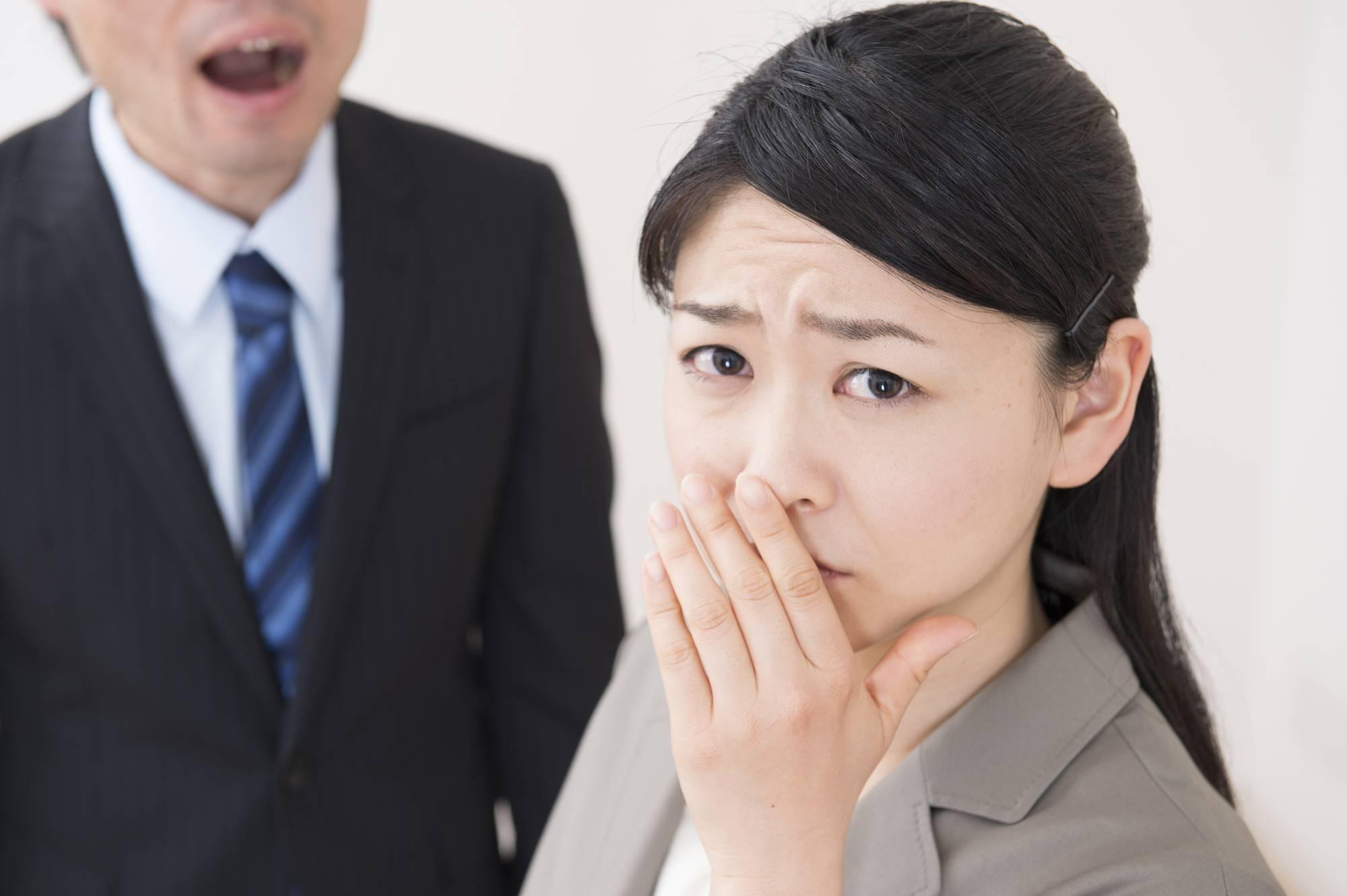 口臭は病気の可能性?