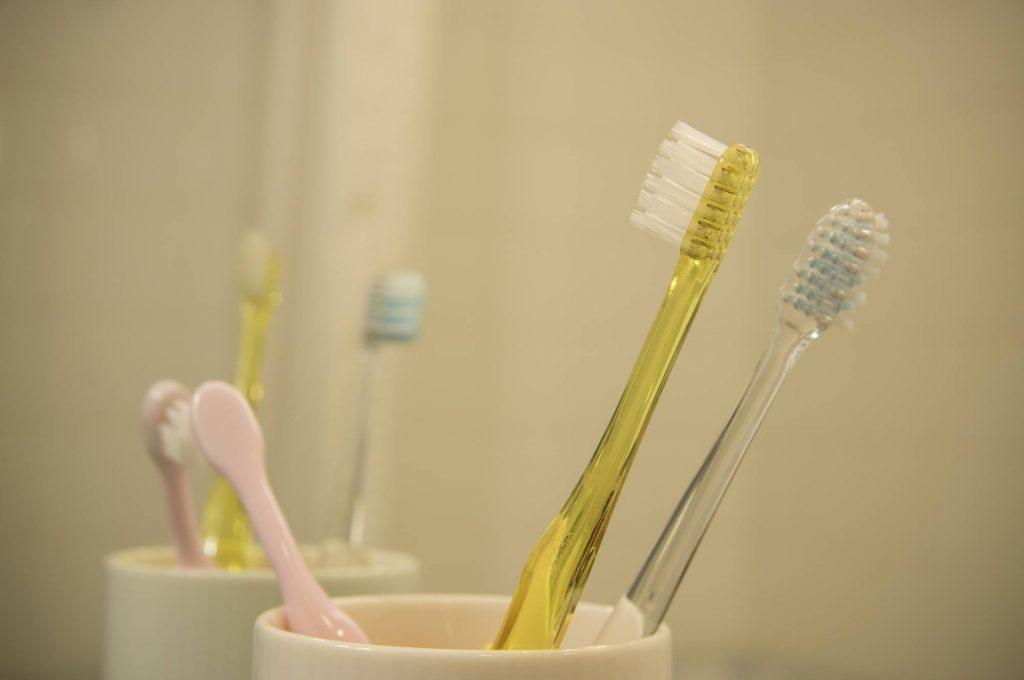 歯ブラシはカビる?