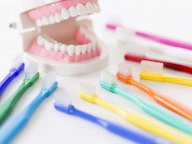 沢山の歯ブラシ