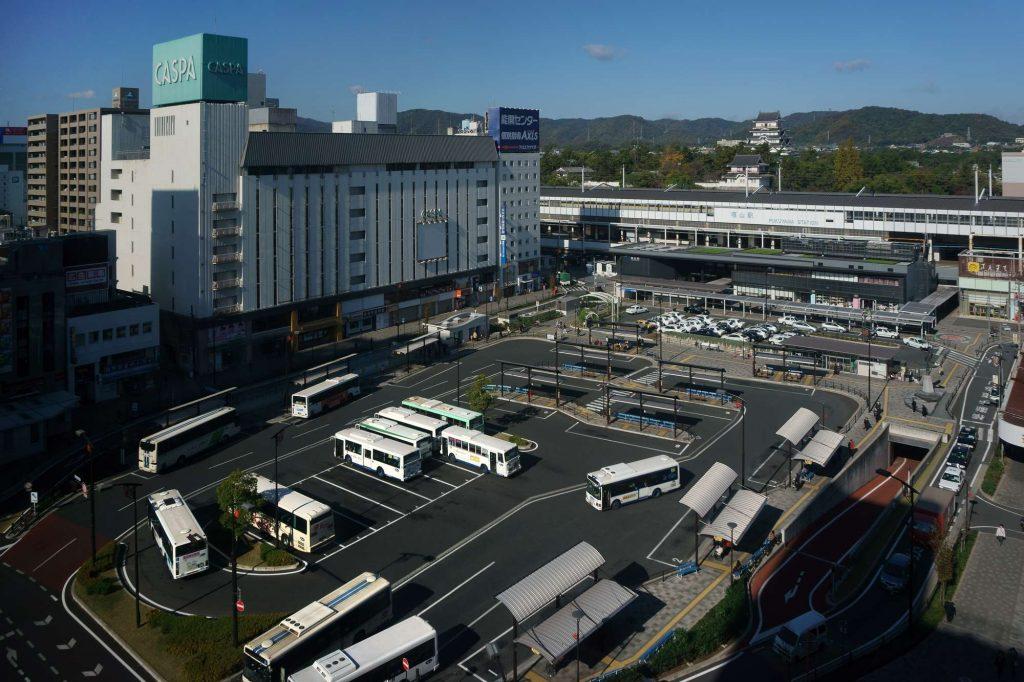 福山駅前ロータリー