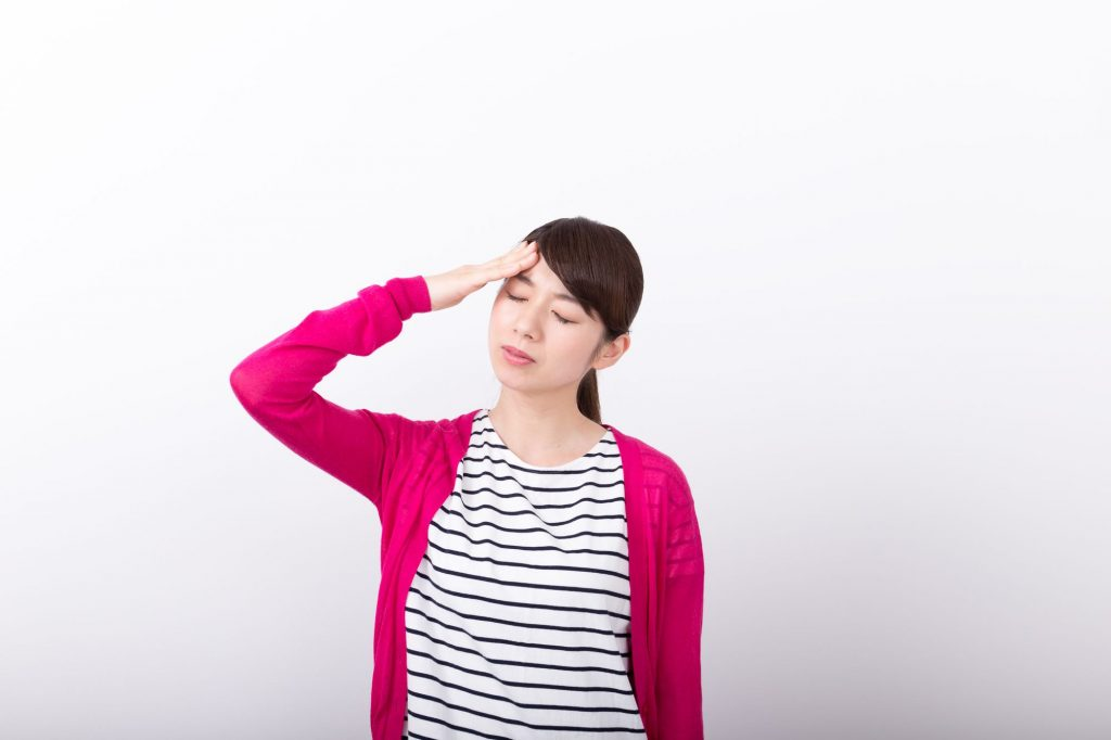 熱、耳の痛みの原因は喉に出来た口内炎?