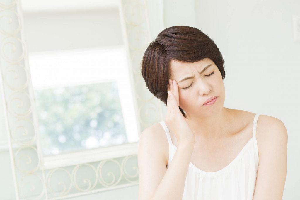 顎関節症の痛みの出る主な場所